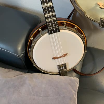 George Formby by Musima Concert Banjo Ukulele  1950s for sale