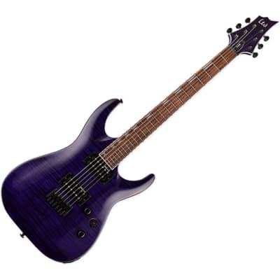 ESP LTD H-200 FM - See-thru Purple for sale