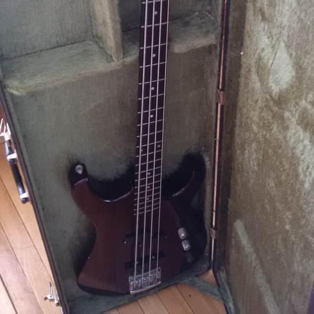 Larrivée LB-2 1988 Purple Sparkle Bass Guitar image