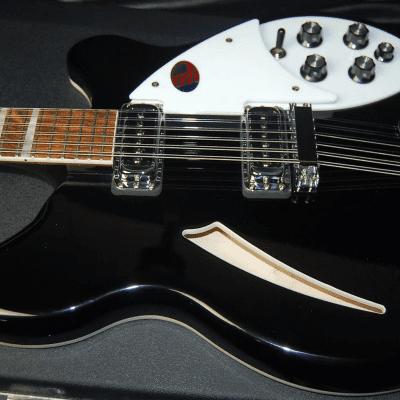2020 Rickenbacker 360/12 JetGlo 12-String Semi-Hollowbody Electric Guitar 100% MInt Unplayed OHSC
