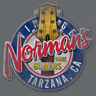 Norm's Headstock T-Shirt Large
