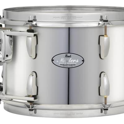 "Pearl Music City Custom 8""x7"" Masters Maple Reserve Series Tom Drum w/optimount MRV0807T - Mirror Chrome"