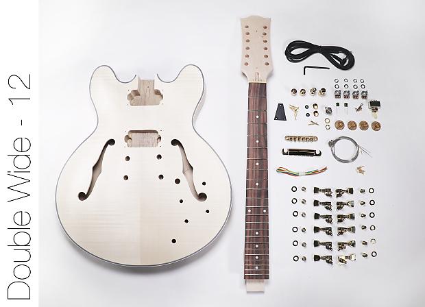 diy electric guitar kit 12 string 335 style build your own reverb. Black Bedroom Furniture Sets. Home Design Ideas