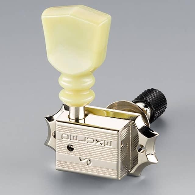 Schaller Machine Heads - Original G-Series Deluxe Keystone DR Toplocking Nickel image