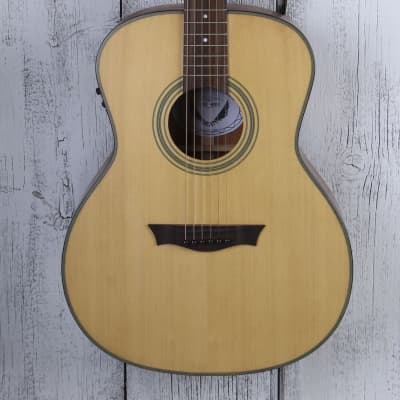 Dean St Augustine Concert Solid Wood Acoustic Electric Guitar Natural SACE SN for sale