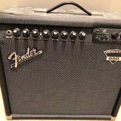 Fender Princeton 650 - 2005 Black for sale