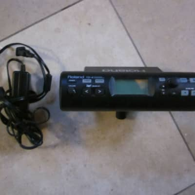 Roland TD-4 V Drum Percussion Sound Module with Power Supply, Cables - COMPLETE