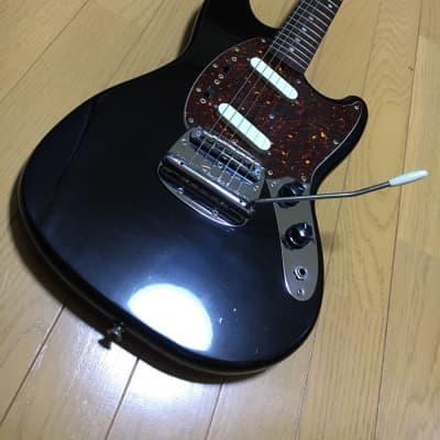 Fender Japan MG69-60 Mustang BLK 1980's, Vintage Electric Guitar, Made in Japan, z7017 for sale