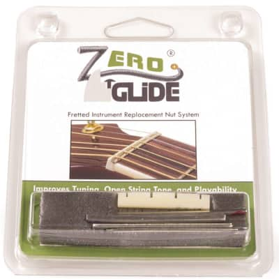 Genuine Zero Glide ZS-19 Slotted nut replacement system for Ukuleles