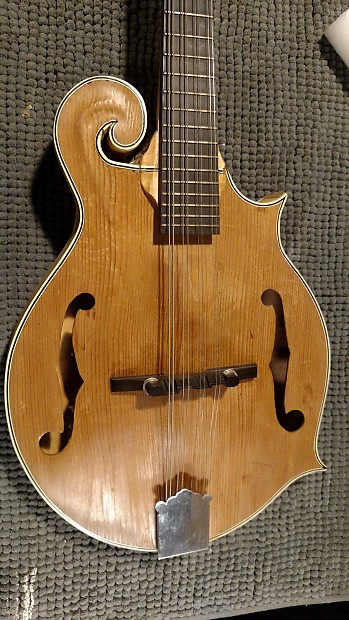 Homemade F 5 Style Mandolin 9or Diy Kit Solid Wood Free Reverb