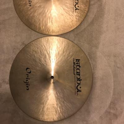 """Istanbul Mehmet 14"""" Origin Hi-Hat Cymbals (Pair)"""