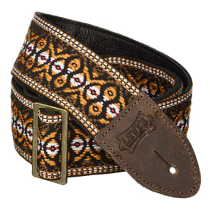 """Levy's M8HTV-20 2"""" Deluxe Hootenanny Guitar Strap"""
