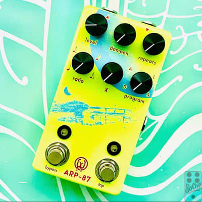 Walrus Audio ARP-87 Multi-Function Delay Limited Edition Neon w/Original Box!
