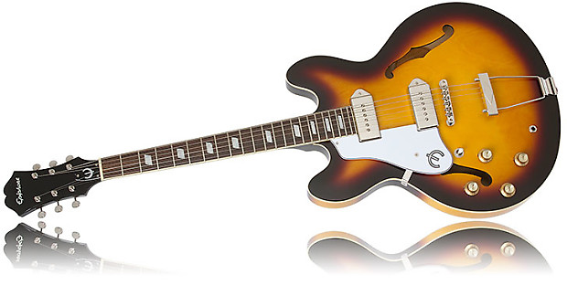 epiphone limited edition casino electric guitar left handed reverb. Black Bedroom Furniture Sets. Home Design Ideas