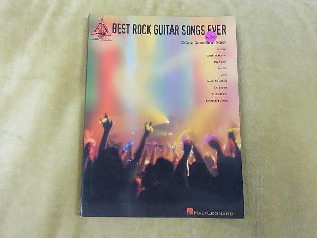 Hal Leonard Best Rock Guitar Songs ever Tablature book