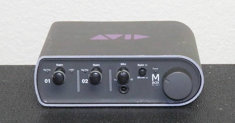 Avid Mbox 3 Mini Audio Interface Gear Closet Reverb
