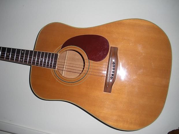 Lawsuit Alvarez Japan No Logo Rare Acoustic Guitar 70s