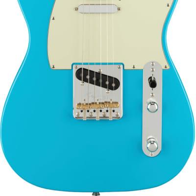 Fender American Professional II Telecaster MP Miami Blue w/case
