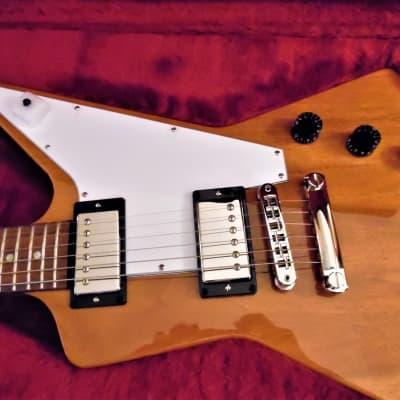 Gibson Explorer 1976 Reissue 2019 Amber for sale