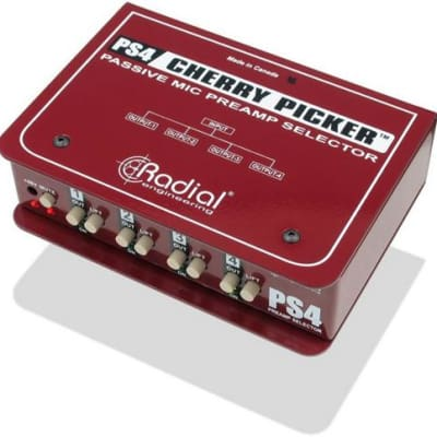 Radial Cherry Picker Studio Preamp Selector (Used/Mint)