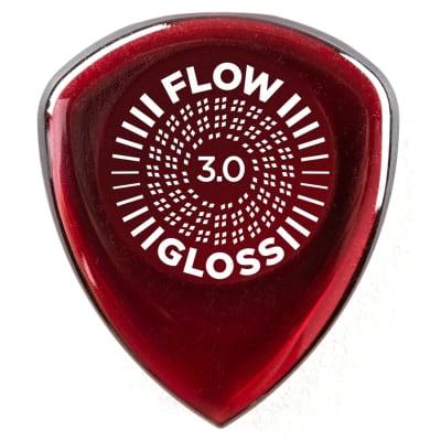 Dunlop 550R300 Flow Gloss Ultex 3mm Guitar Picks (12-Pack)
