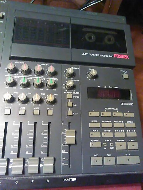 Fostex 280 Multitrack Cassette Recorder