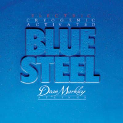 Dean Markley DM2558 Blue Steel Electric Guitar Strings - Light Top/Heavy Bottom 10-52 for sale