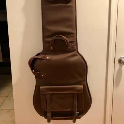 Levy's Brown Leather Bass Case