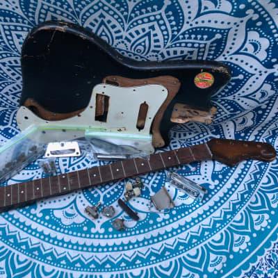Bag-o' Dano -1960's Danelectro/Silvertone 1442L Short-Scale Bass Project for sale