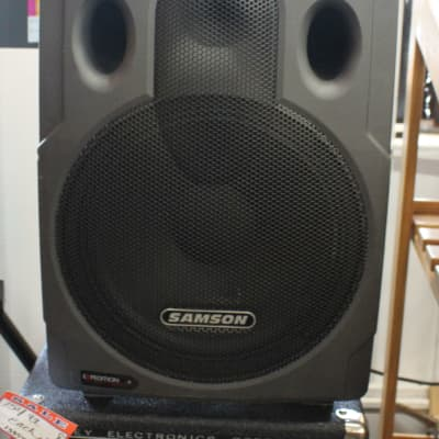 Samson Expedition Express EX250 Portable PA System on Wheels Gray