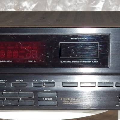 Sansui RZ-3000 vintage stereo receiver with phono input