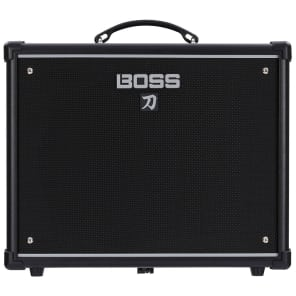 "BOSS Katana 50 50-Watt 1x12"" Guitar Combo Amplifier"