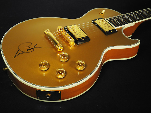 2005 Gibson Les Paul 90th Birthday Signature Supreme Goldtop   Reverb