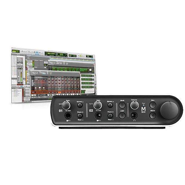 Avid Pro Tools Express Mbox 4x4 USB Interface and Pro Tools Studio Bundle
