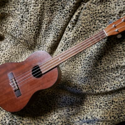 Vintage Conrad Baritone Ukulele MIJ Japan Standard Uke Tuning 1970's Natural Finish for sale