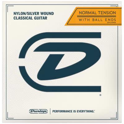Dunlop Classical Acoustic Guitar Strings, Ball End, DCV100NB