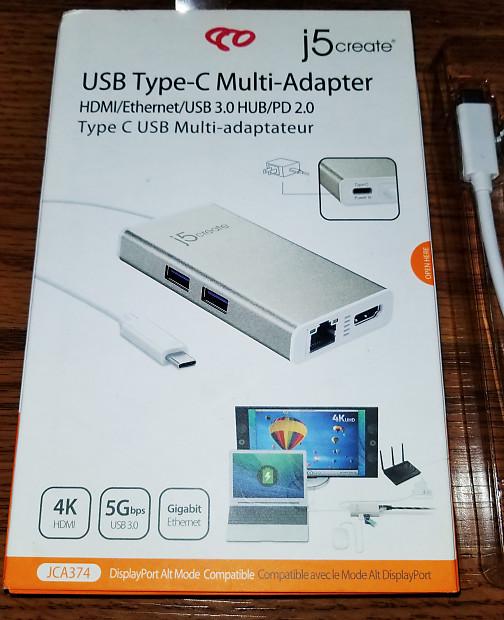 j5create Usb Type-C Multi-Adapter | JG Studios