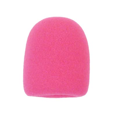 Microphone Windscreen - Hot Pink Colored - Fits Shure SM58, Beta 58A & Similar - Mic Cover New