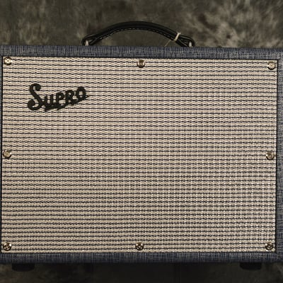 Supro 1970RK Robert Keeley Combo Amplifier 25 watts Tube 1x10 w Effects Loop FAST Free Shipping! for sale