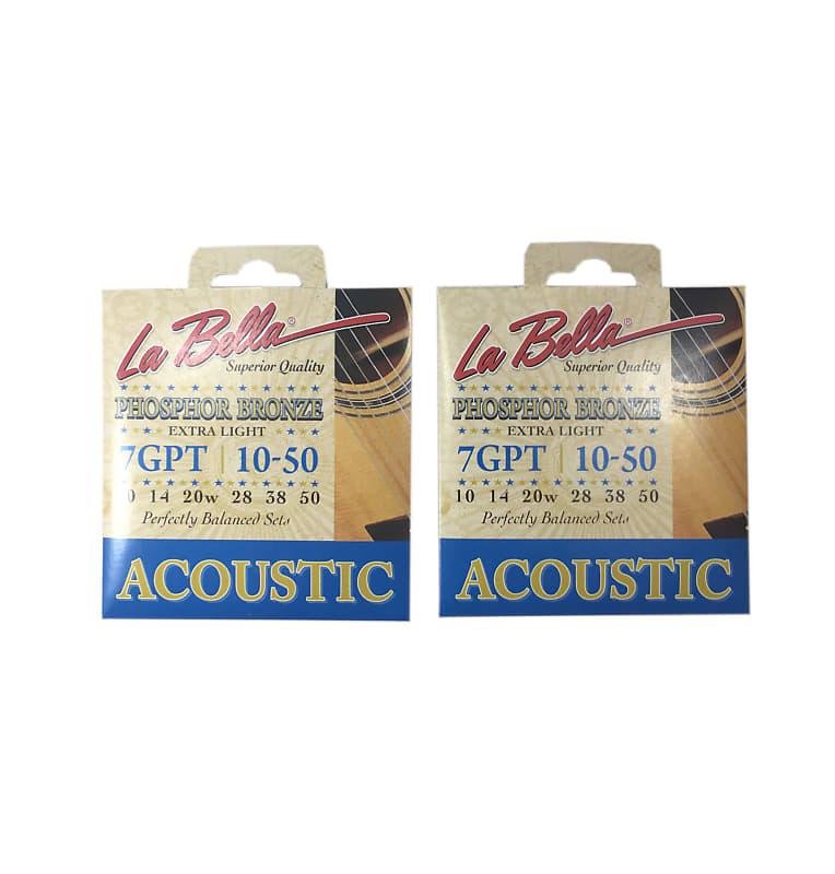 la bella guitar strings acoustic phosphor bronze extra light reverb. Black Bedroom Furniture Sets. Home Design Ideas