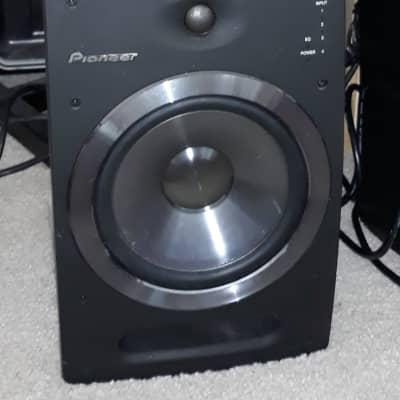 "Pioneer S-DJ08, 8"" Active Reference Speakers (One Pair)"