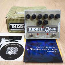 Electro Harmonix Riddle Q Balls Envelope Filter Guitar Effect Pedal w/ Box