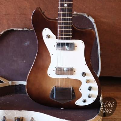 1964 Kay Vanguard (2 pickups, Autumnburst, OHSC) for sale