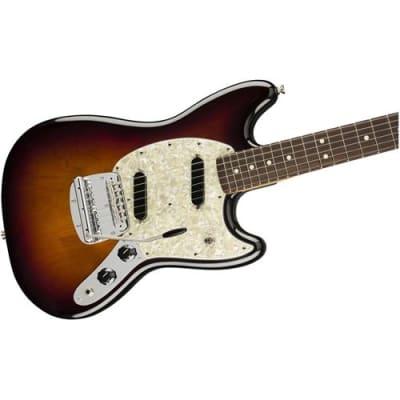 Fender American Performer Mustang Electric Guitar, Rosewood Fingerboard, 3-Color Sunburst