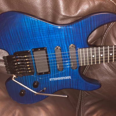 Steinberger GM-4T 2000 Translucent Blue for sale