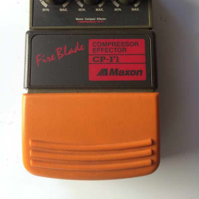 Maxon Fire Blade CP-F1 Compressor Effector Rare Vintage Guitar Pedal MIJ Japan
