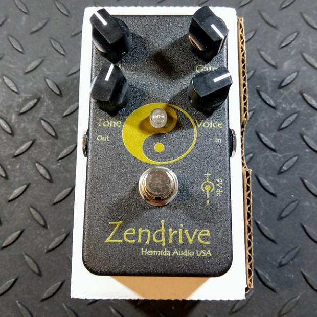 Hermida Audio Black Magic Zendrive (Gold x's 2) Lovepedal FREE SHIPPING