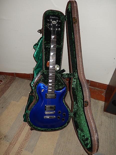 washburn custom shop usa electric guitar wi 580 case reverb. Black Bedroom Furniture Sets. Home Design Ideas