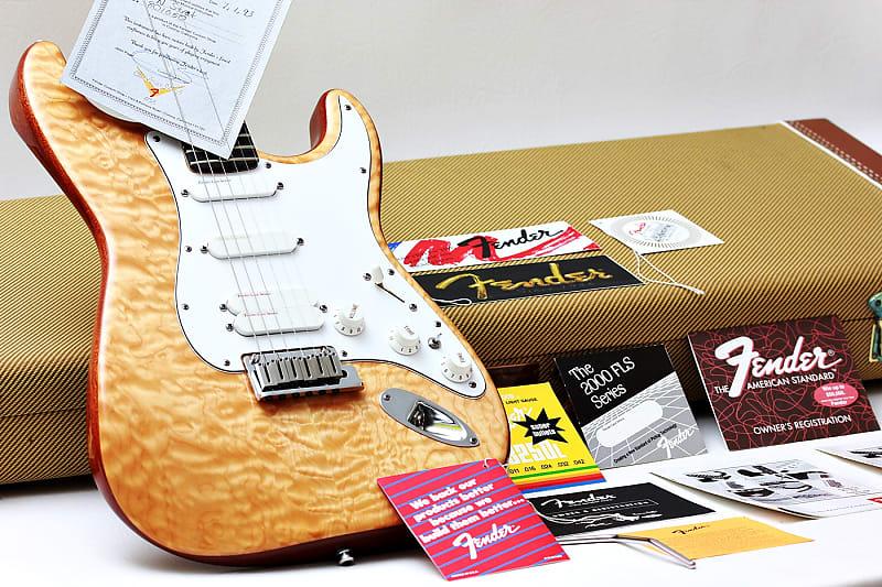 FENDER USA Stratocaster Plus Ultra Custom Shop Set Neck