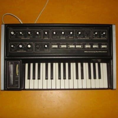 Moog Micromoog Micro Moog Analog Vintag Synth Keyboard 3 Knöpfe nicht